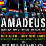 Amadeus - Euro Tour 2009 - Booking Now!