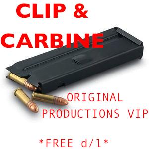 CLIP & CARBINE orig. prod. vip
