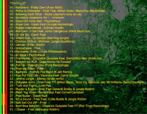 frisk-mix-tracklist